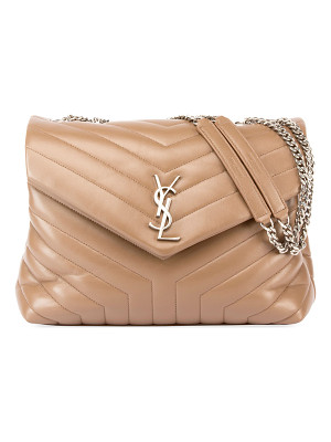 SAINT LAURENT Monogram Loulou Medium Chain Bag