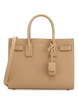 SAINT LAURENT Sac De Jour Baby Grained Leather Satchel Bag