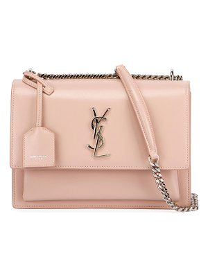 SAINT LAURENT Sunset Medium Monogram Crossbody Bag