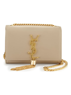 SAINT LAURENT Monogram Small Tassel Crossbody Bag
