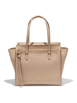 SALVATORE FERRAGAMO Medium Leather Tote Bag