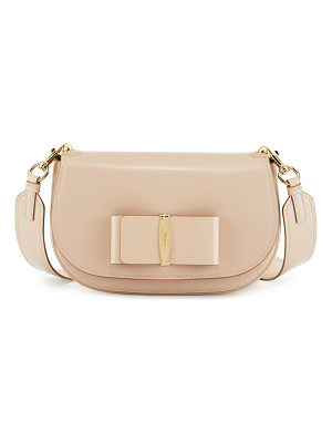 SALVATORE FERRAGAMO Anna Leather Shoulder Bag