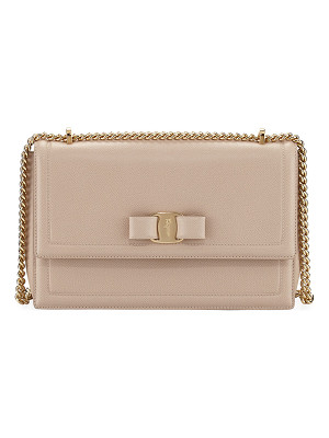 Salvatore Ferragamo Ginny Vara Medium Flap Bag
