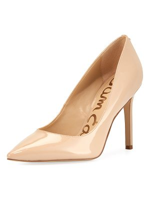 SAM EDELMAN Hazel Patent Leather Pump