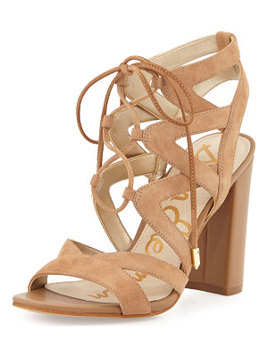 SAM EDELMAN Yardley Suede Lace-Up Sandal