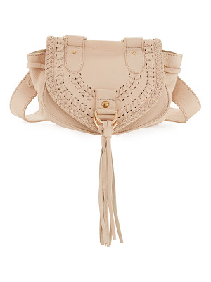 SEE BY CHLOE Collins Fringe Leather Saddle Bag