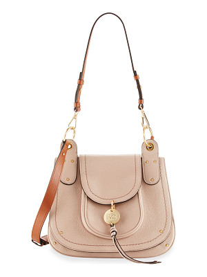 SEE BY CHLOE Leather Flap Shoulder Bag