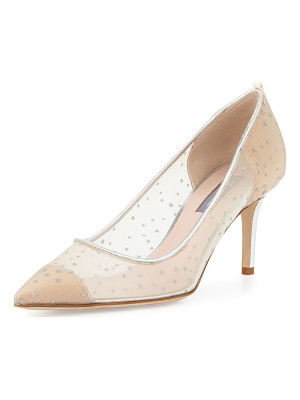SJP BY SARAH JESSICA PARKER Glass 70mm Mesh Pump
