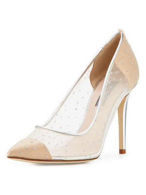SJP by Sarah Jessica Parker Glass Mesh 100mm Pumps