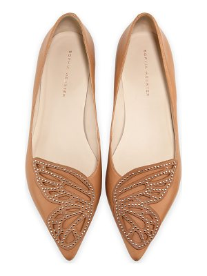 SOPHIA WEBSTER Bibi Butterfly Studded Flat
