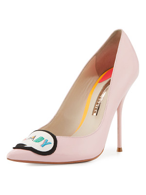SOPHIA WEBSTER Boss Lady Patent Leather Pump