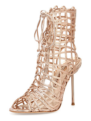 Sophia Webster Delphine Metallic Gladiator Sandals