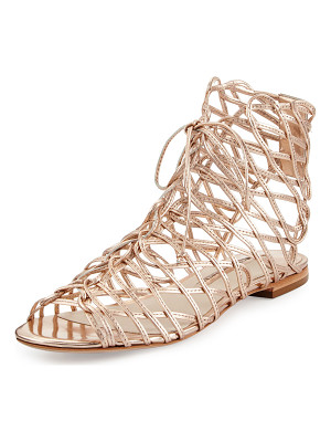 SOPHIA WEBSTER Dephine Lace-Up Flat Gladiator Sandal