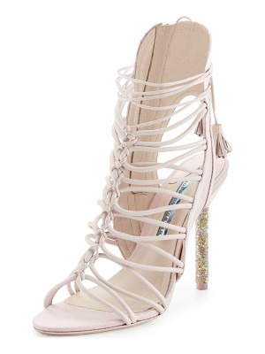 Sophia Webster Lacey Crystal Bridal Sandal