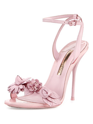 SOPHIA WEBSTER Lilico Floral Leather 100mm Sandal