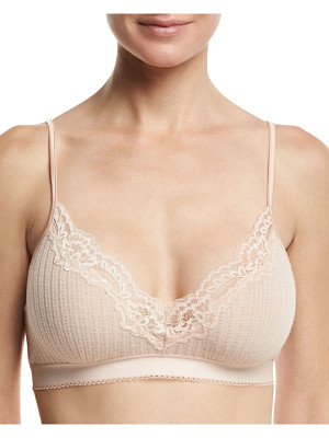 Stella McCartney Lily Blushing Soft-Cup Bra