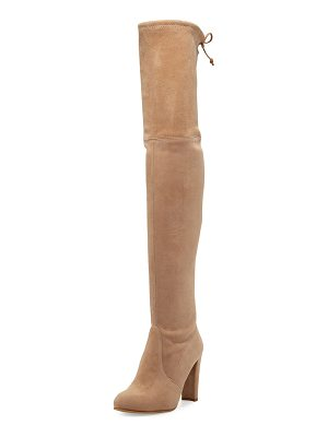 STUART WEITZMAN Highland Suede Over-The-Knee Boot