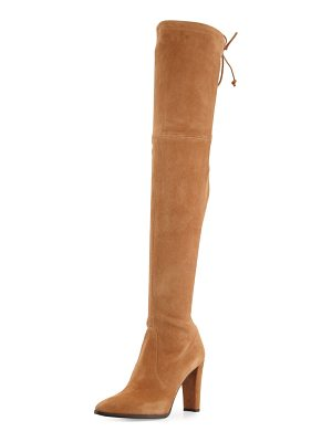 STUART WEITZMAN Highstreet Suede Over-The-Knee Boot