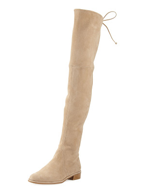 STUART WEITZMAN Lowland Suede Over-The-Knee Boot