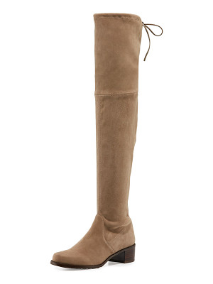 Stuart Weitzman Midland Suede Over-the-Knee Boot