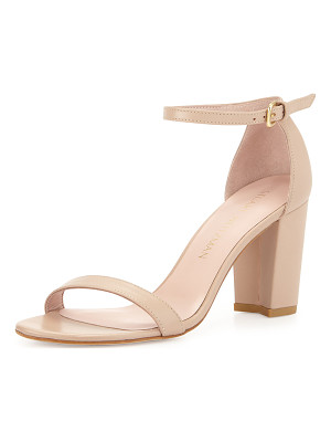 STUART WEITZMAN Nearlynude Leather City Sandal