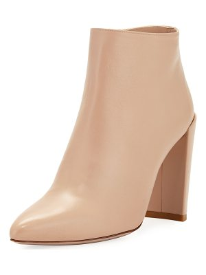 STUART WEITZMAN Pure Crinkled Napa Leather Bootie