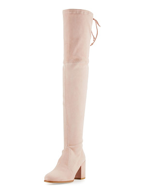 STUART WEITZMAN Tieland Suede Over-The-Knee Boot