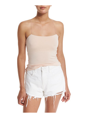 T BY ALEXANDER WANG Strappy Stretch Jersey Tank