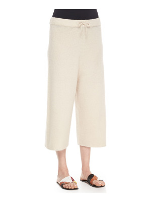 The Row Cropped Cashmere/Silk Sweatpants