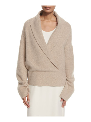 The Row Fontaine Crossover Sweater