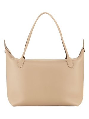 THE ROW Lux Leather Satchel Bag