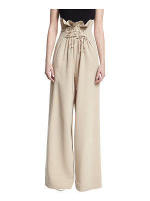 The Row Roy High-Rise Wide-Leg Pants