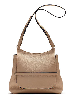 THE ROW Sideby Pebbled Calfskin Crossbody Bag
