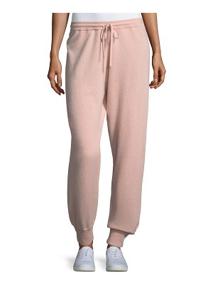 Theory Cashmere Athletic-Stripe Lounge Pants