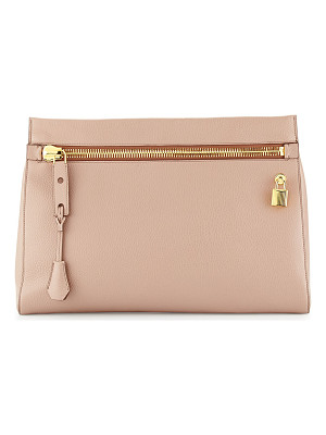 Tom Ford Alix Small Zip & Padlock Clutch Bag