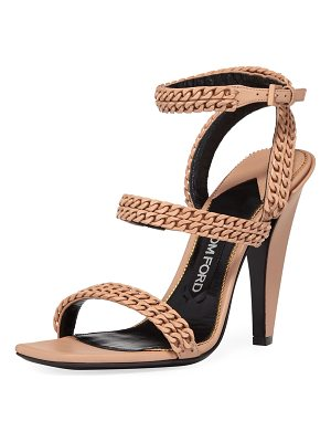 TOM FORD Chain Strappy 105mm Sandal