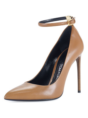 Tom Ford T-Bar Leather 105mm Pump