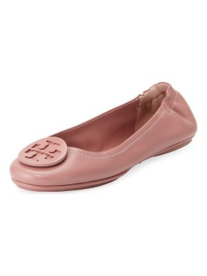 Tory Burch Minnie Travel Logo Ballet Flat