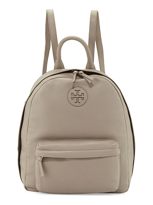 TORY BURCH Zip-Around Leather Backpack