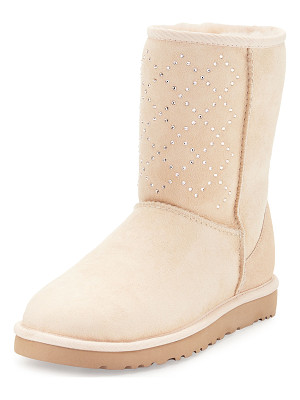 Ugg Classic Short Crystal Suede Boot