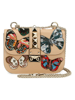 VALENTINO Lock Small Butterfly Shoulder Bag