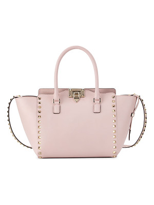Valentino Rockstud Small Double-Handle Shopper Tote Bag