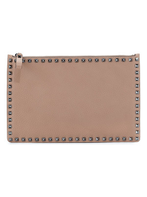 Valentino Rockstud Large Leather Pouch Bag