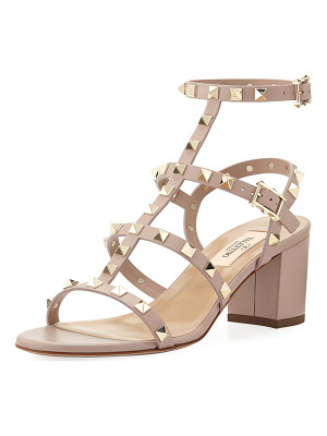 Valentino Rockstud Leather 60mm City Sandals