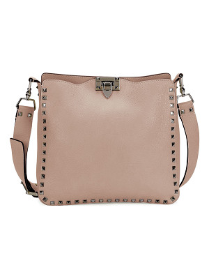Valentino Rockstud Medium Flip-Lock Hobo Bag