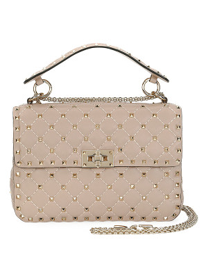 VALENTINO Rockstud Medium Quilted Shoulder Bag