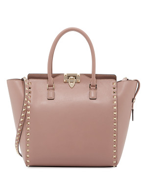 Valentino Rockstud Medium Shopper Tote Bag