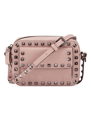 VALENTINO Rockstud Small Flap Pocket Camera Crossbody Bag