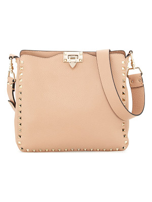 VALENTINO Rockstud Small Vitello Crossbody Bag