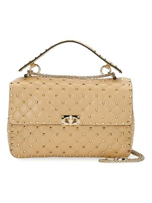 Valentino Rockstud Spike Large Quilted Shoulder Bag